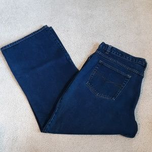 Zana Di 100% Cotton Straight Leg Jeans Sz 24